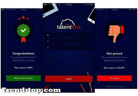 9 TalentLMS البدائل لالروبوت