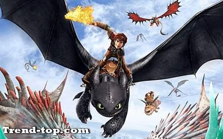PSPのためのあなたのドラゴンを訓練する方法のような5つのゲーム ファイティングゲーム