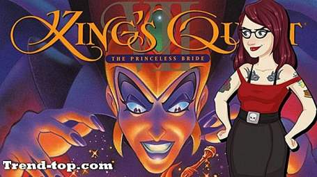 23 Spel som King Quest VII: The Princeless Bride för PC Pussel Spel