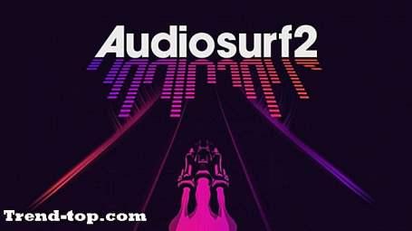 PS2用Audiosurf 2のような2つのゲーム レースゲーム
