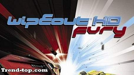 2 spill som Wipeout HD Fury for Nintendo 3DS