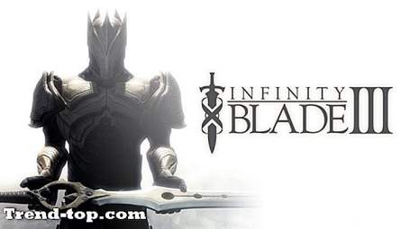 Infinity Blade 3 for Linuxのような2つのゲーム RPGゲーム