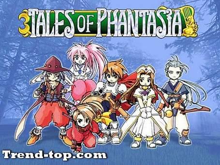 テイルズオブファンタジアPS2のような10のゲーム RPGゲーム