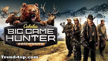 19 spill som Cabela's Big Game Hunter: Pro Hunts for PC Skyting Spill