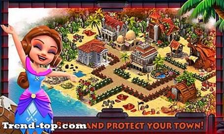 12 spill som vulkan øy: Paradise Ville for iOS Simuleringsspill