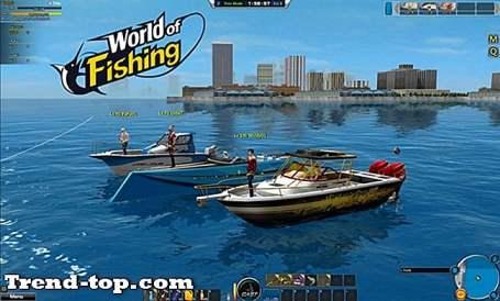 11 juegos como World of Fishing para Android
