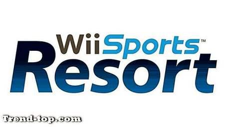 PS3のためのWiiスポーツリゾートのような3つのゲーム スポーツゲーム