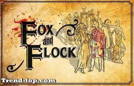 20 Spel som Fox och Flock Strategispel