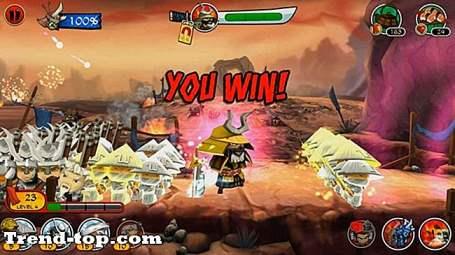 19 spil som samurai vs zombier forsvar 2 Strategispil