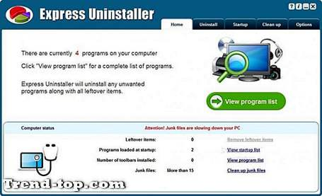 19 Express Uninstaller Alternativer Andre Os Hjælpeprogrammer