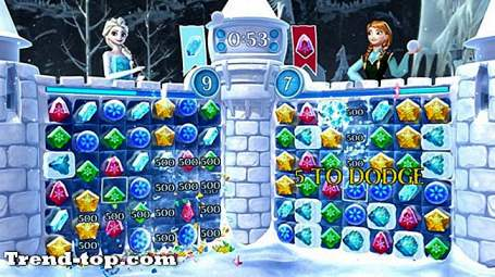 3 ألعاب مثل Frozen Free Fall: Snowball Fight for Mac OS
