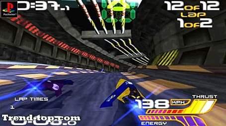 2 spel som Wipeout 2097 för Android Racing Racing