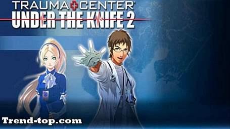 5 spill som Trauma Center: Under kniven 2 for Nintendo Wii Strategisimulering