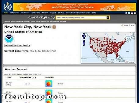 16 locaties zoals WorldWeather Andere Reislocatie